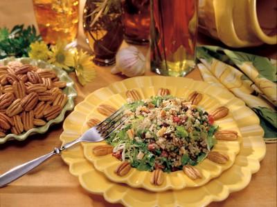 Sweet & Sour Georgia Pecan Pesto Salad