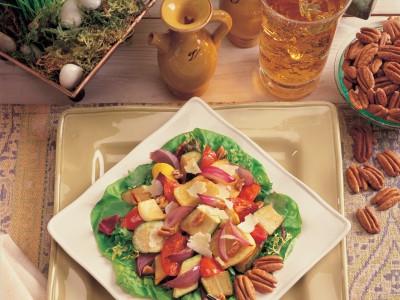 Roasted Vegetable & Georgia Pecan Salad