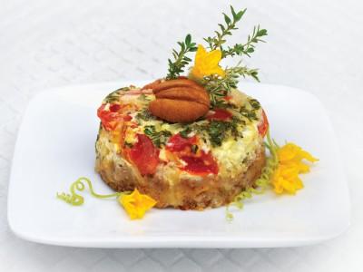 Parmigiano Tomato Tarts with Georgia Pecan Crust