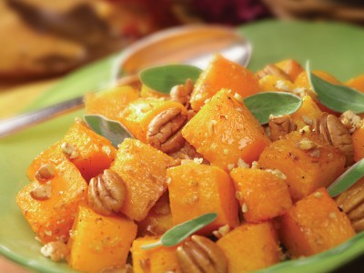 Pumpkin Roasted with Georgia Pecans & Sage