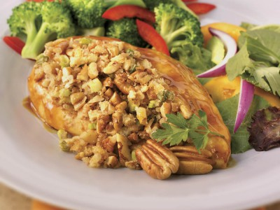 Grilled Honey Mustard Chicken with Georgia Pecans