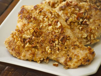 Gluten-Free Georgia Pecan-Crusted Turkey Tenderloin