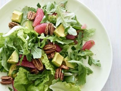 Avocado, Grapefruit Salad with Toasted Georgia Pecans